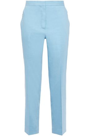 RAG & BONE Poppy cropped linen-blend tapered pants