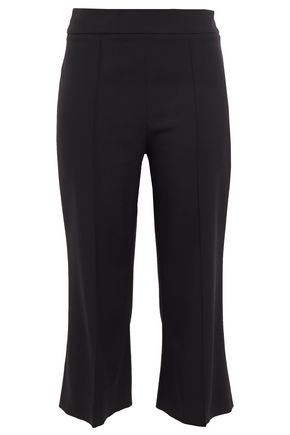 EMILIO PUCCI Cropped wool-blend twill bootcut pants