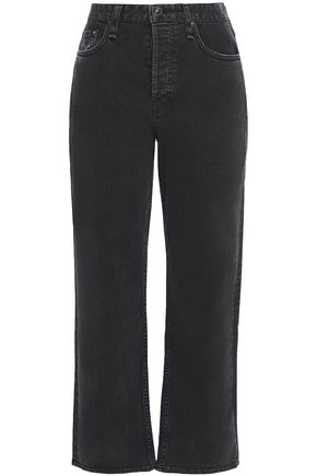 RAG & BONE Maya high-rise straight-leg jeans