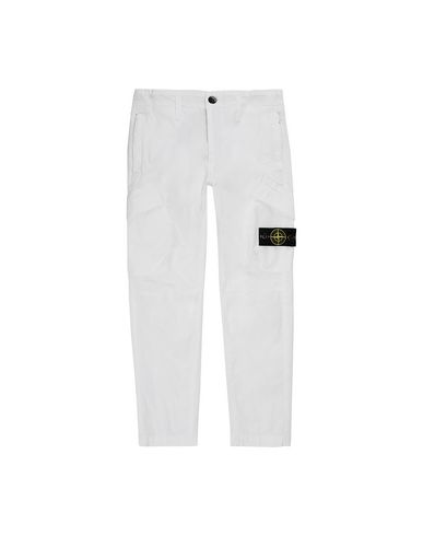 STONE ISLAND KIDS 30311 T.CO+OLD Trousers Man White EUR 164