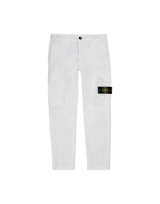 STONE ISLAND JUNIOR 30311 T.CO+OLD Pants Man White