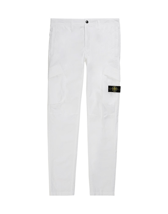 STONE ISLAND JUNIOR 30311 T.CO+OLD Trousers Man White