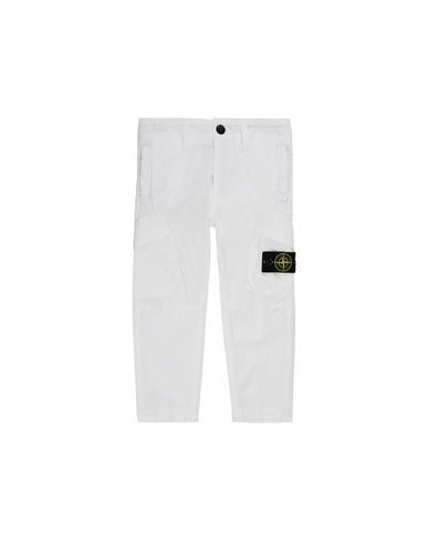 STONE ISLAND BABY 30311 T.CO+OLD Trousers Man White EUR 153