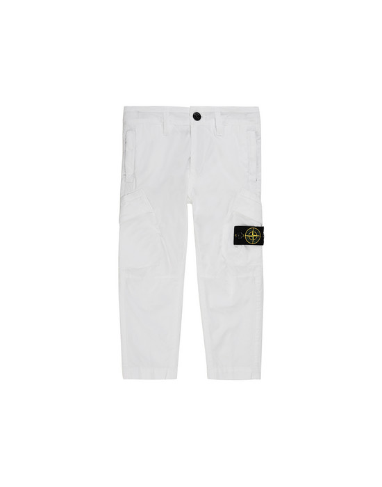 STONE ISLAND JUNIOR 30311 T.CO+OLD Pantalone Uomo Bianco