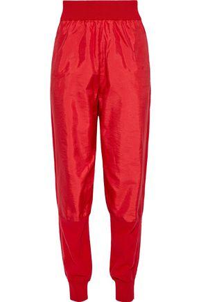 STELLA McCARTNEY Shell-paneled wool track pants