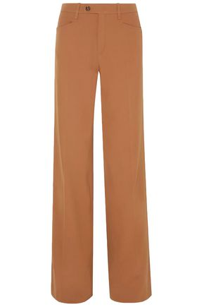 CHLOÉ Wool-blend twill wide-leg pants