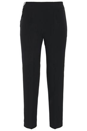 ANTONIO BERARDI Embellished cady slim-leg pants