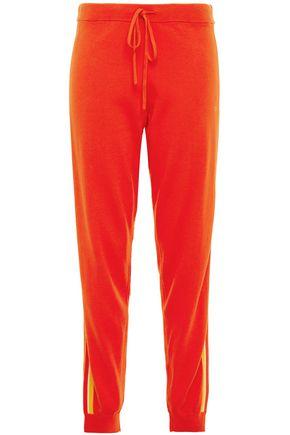 CHINTI & PARKER Striped cotton track pants