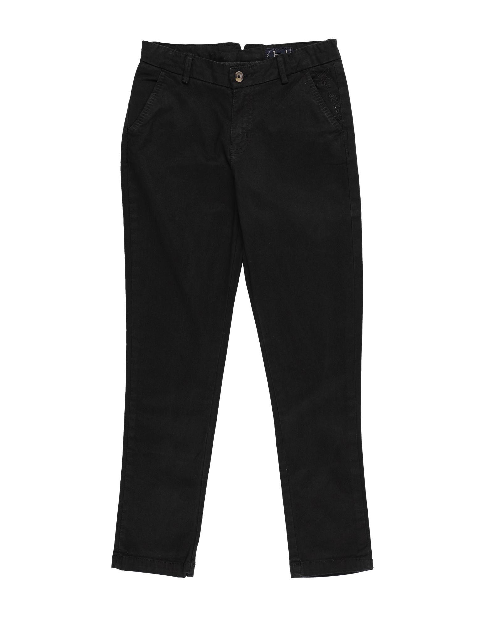 Héros Kids' Casual Pants In Black