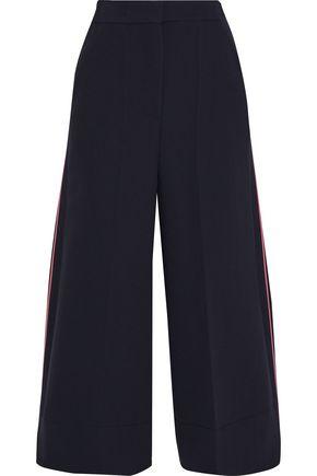 ROKSANDA Cropped cady wide-leg pants