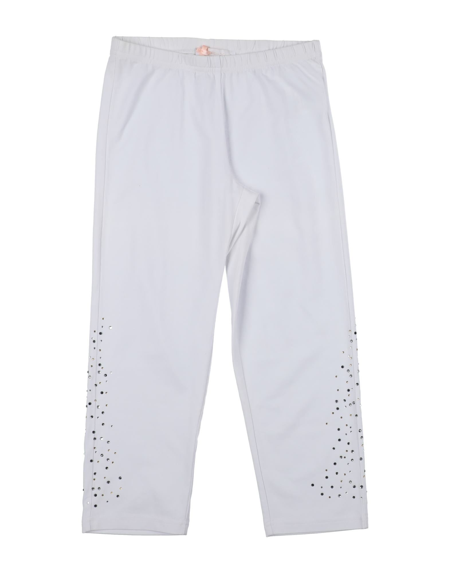 Heach Dolls By Silvian Heach Kids' Casual Pants In White