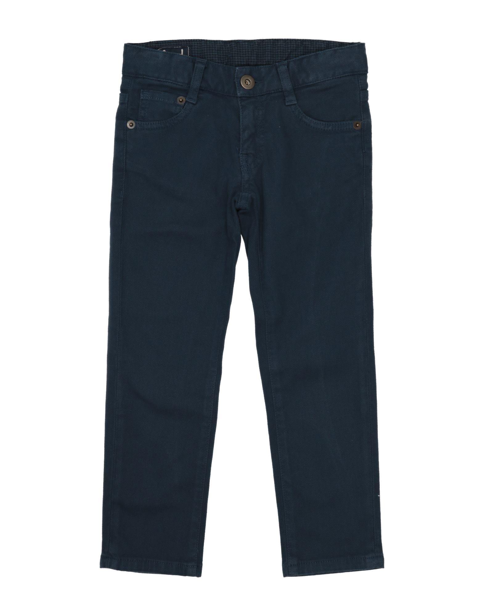 Héros Kids' Casual Pants In Dark Blue