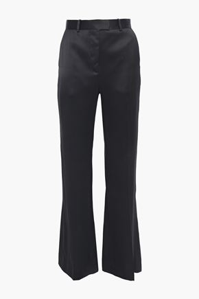 SANDRO Satin flared pants