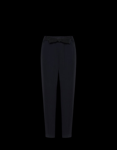 CASUAL TROUSER Black Skirts and Trousers Woman