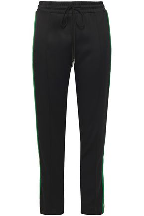 SANDRO Jeanne stretch-jersey track pants
