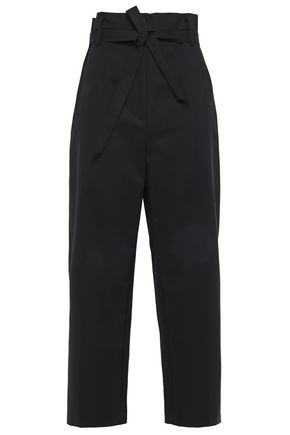 3.1 PHILLIP LIM Cropped cotton-blend straight-leg pants