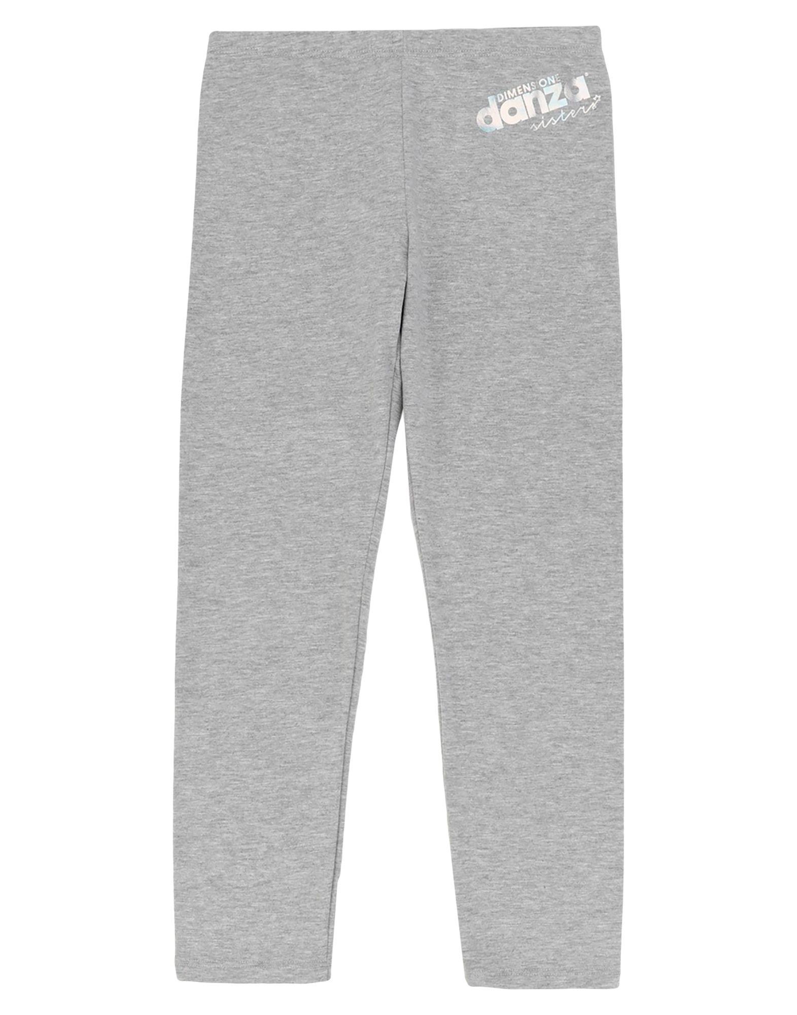 Dimensione Danza Sisters Kids' Leggings In Grey