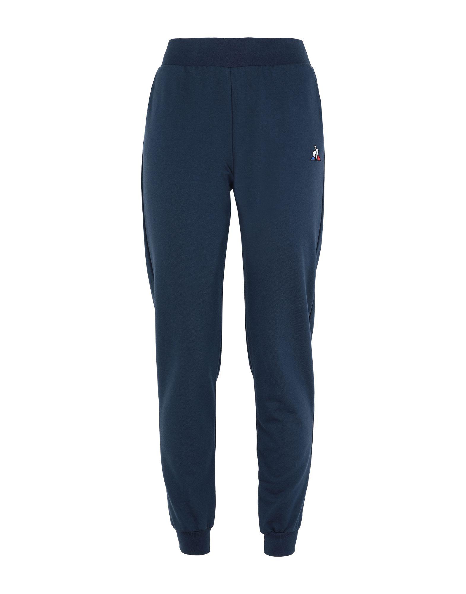 《セール開催中》LE COQ SPORTIF レディース パンツ ダークブルー M コットン 100% ESS Pant Regular N°1 W