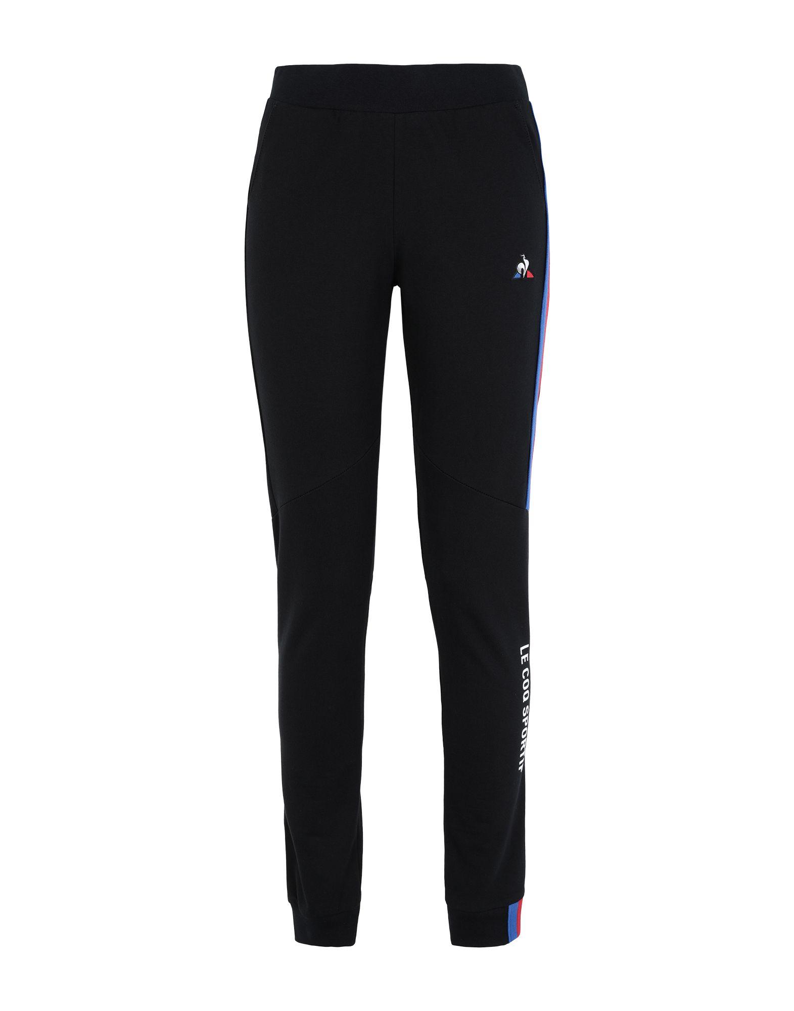 《セール開催中》LE COQ SPORTIF レディース パンツ ブラック XS コットン 100% TRI Pant Slim N°1 W