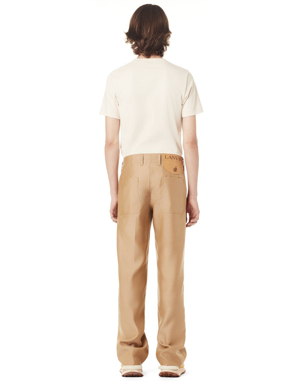 STRAIGHT WOOL TROUSERS - Lanvin