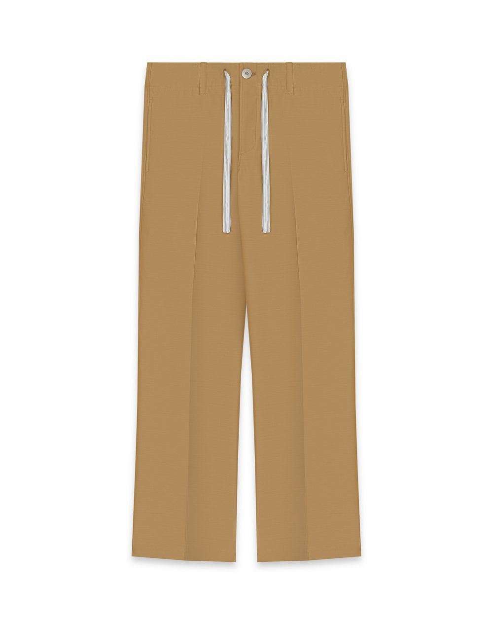 STRAIGHT WOOL PANTS - Lanvin