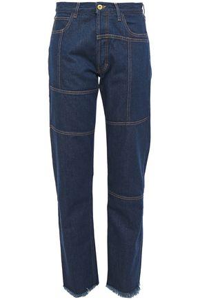 MARQUES' ALMEIDA High-rise straight-leg jeans