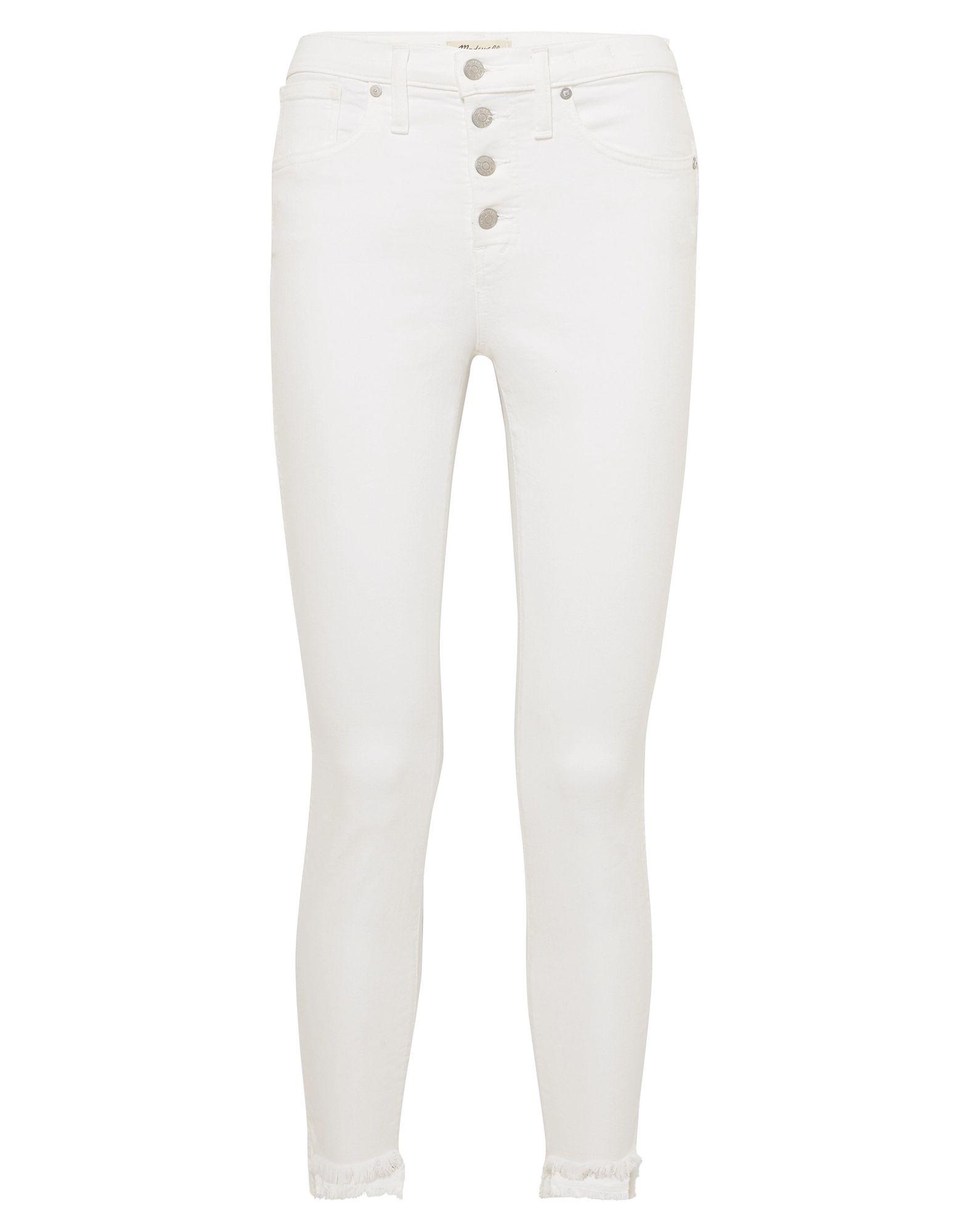 madewell джинсовые брюки капри MADEWELL Джинсовые брюки