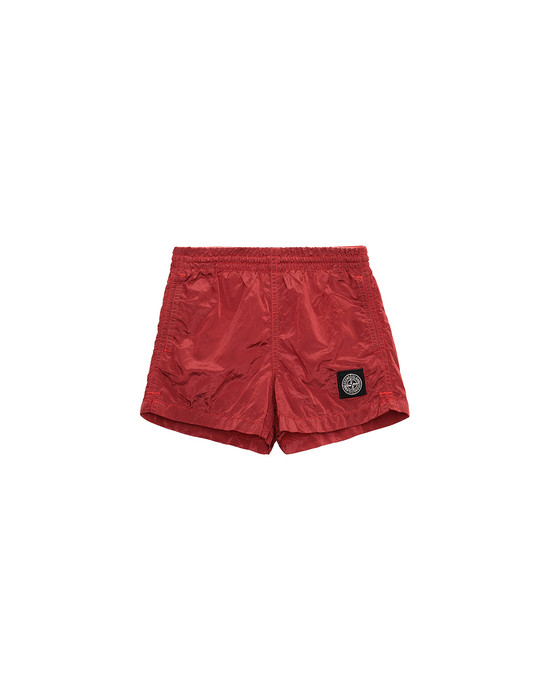 Swimming trunks FW Man B0213 Front STONE ISLAND BABY