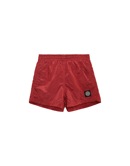 Swimming trunks Man B0213 NYLON METAL Front STONE ISLAND KIDS