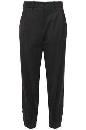 NILI LOTAN Bertina wool-twill tapered pants