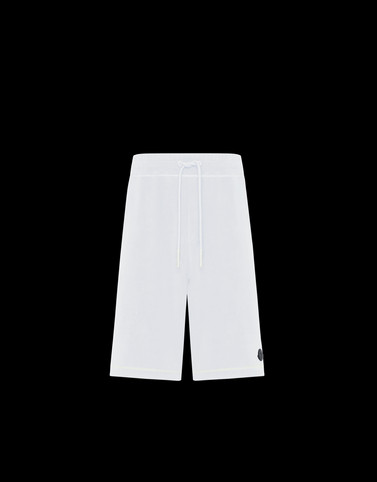 BERMUDA White Category Bermuda shorts Man