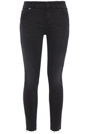 IRO Nonna distressed mid-rise skinny jeans