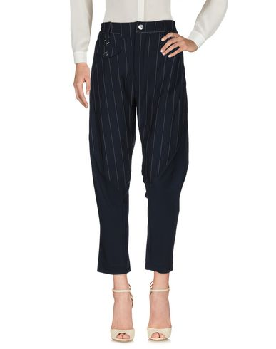 Фото 2 - Повседневные брюки от HIGH by CLAIRE CAMPBELL темно-синего цвета