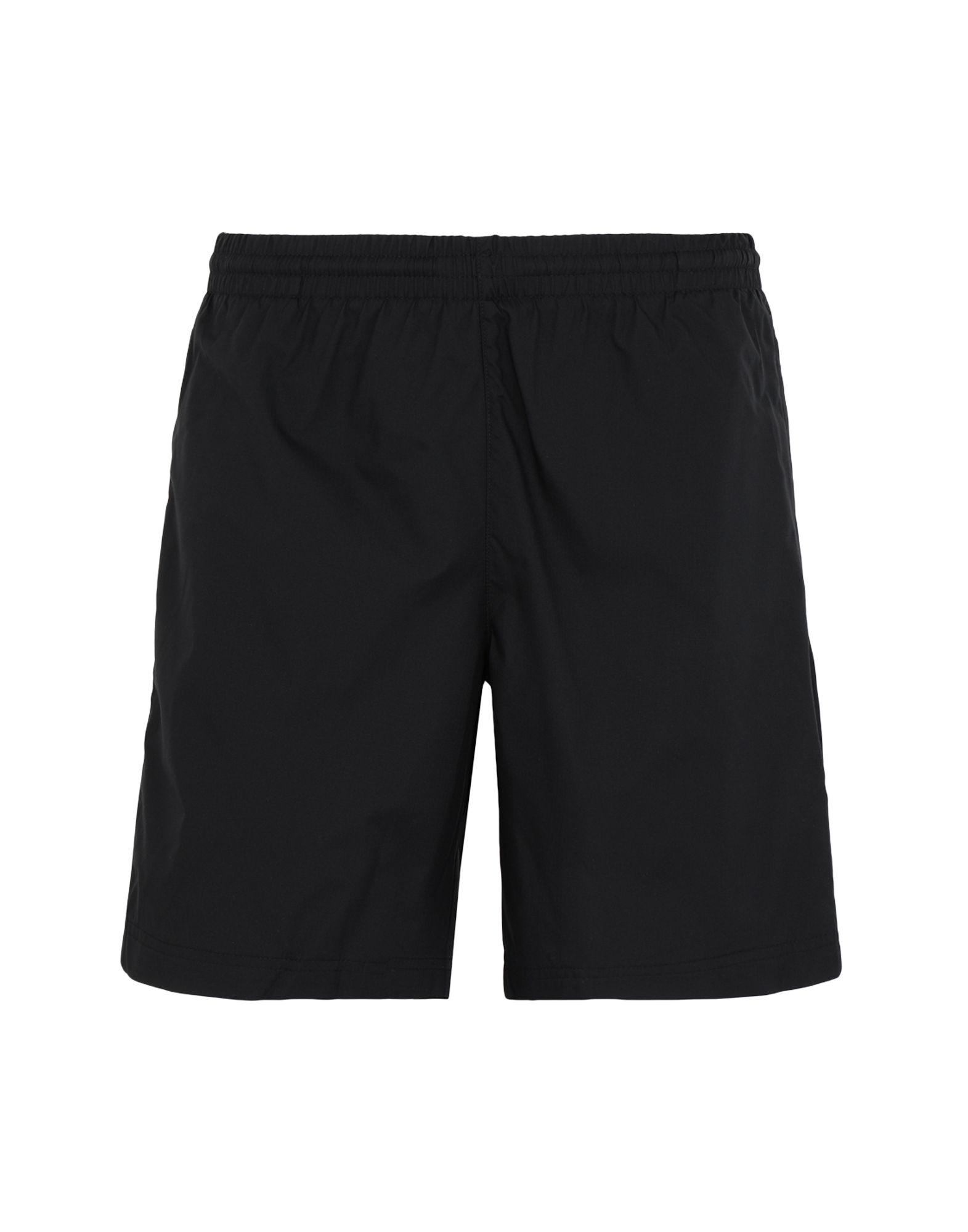 《セール開催中》ADIDAS ORIGINALS メンズ バミューダパンツ ブラック XL ポリエステル 100% LOCK UP TS