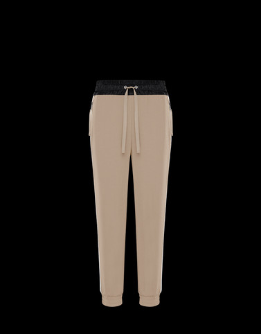 CASUAL TROUSER Beige Skirts and Trousers Woman