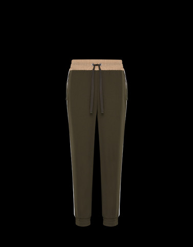 CASUAL TROUSER Dark green Skirts and Trousers Woman