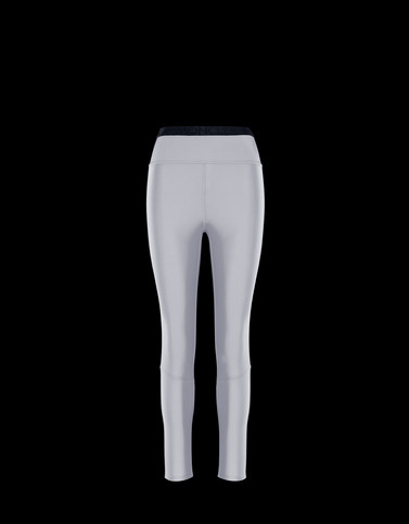 LEGGINS Light grey Skirts and Trousers Woman