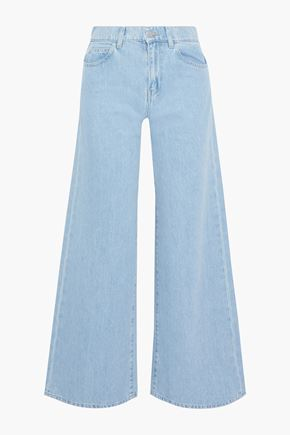 IRIS & INK Virginia high-rise wide-leg jeans