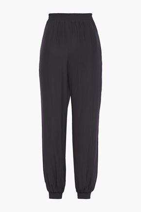 LANVIN Woven track pants