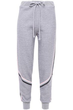 WILDFOX Mélange fleece track pants