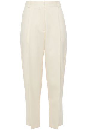 SEE BY CHLOÉ Cropped jacquard straight-leg pants