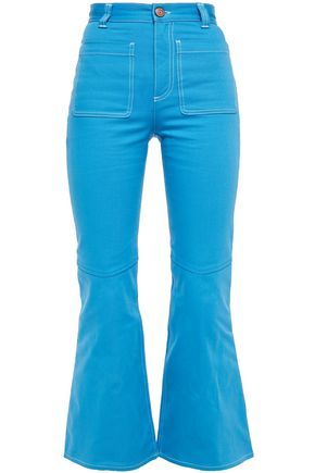 SEE BY CHLOÉ High-rise kick-flare jeans