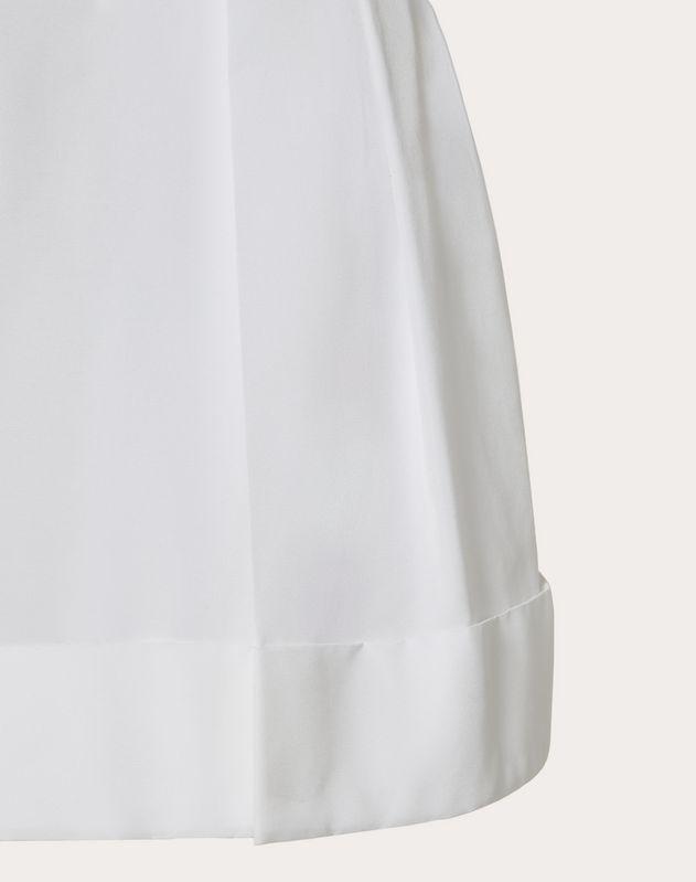 Shorts aus Micro Faille