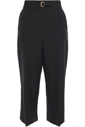 REDValentino Belted cady culottes