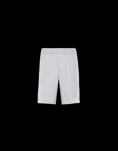 BERMUDA Light grey Category Bermuda shorts Man