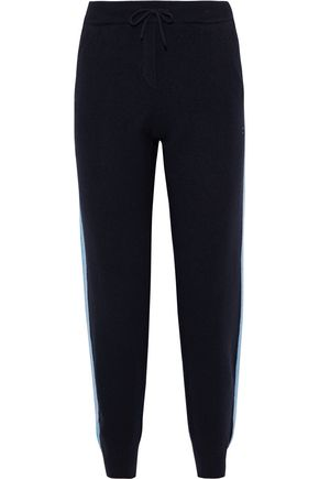 CHINTI & PARKER Wool and cashmere-blend track pants