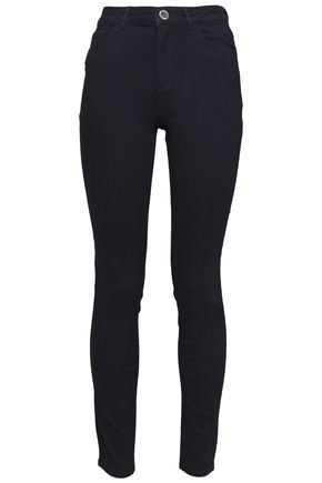 CLAUDIE PIERLOT Quilted high-rise skinny jeans