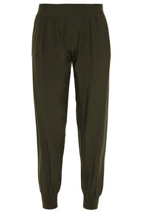 ATM ANTHONY THOMAS MELILLO Silk-charmeuse tapered pants
