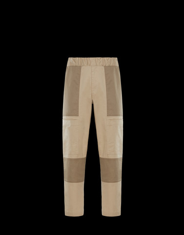 ATHLETIC TROUSERS Beige Category Casual trousers Man