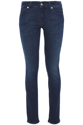 7 FOR ALL MANKIND Cristen low-rise slim-leg jeans